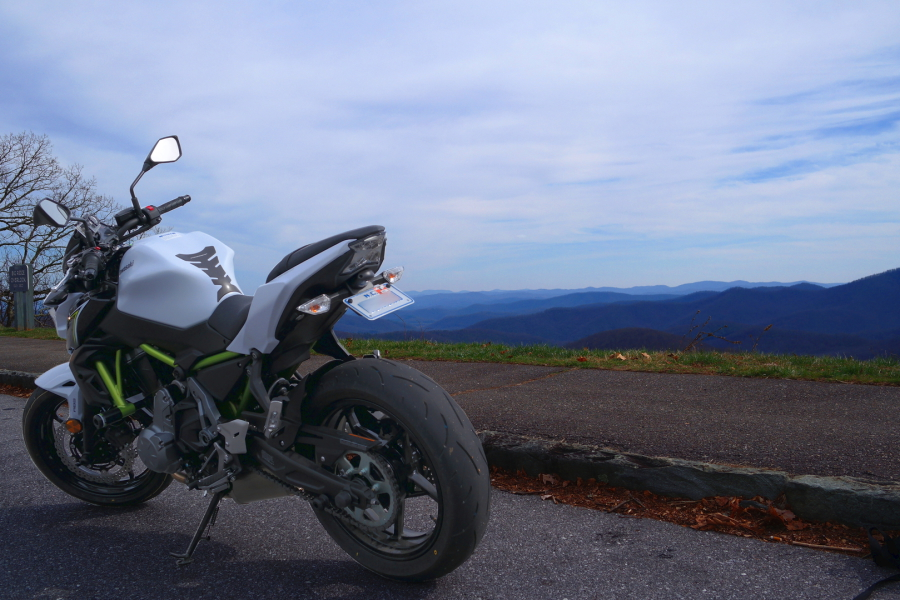 2017 Z650 On The Blue Ridge Parkway Late Winter Early Spring